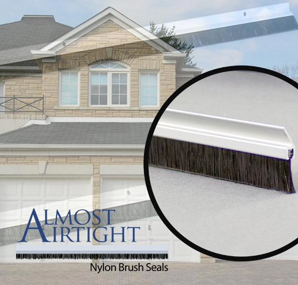 Almost Airtight Residential Garage Trim