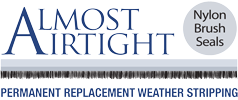 Almost Airtight Permanent Replacement Weather Stripping